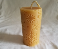 Candle-Design-Snowflake