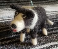 Felted-Art-Figure-Border-Collie