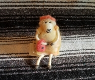 Felted-Art-Figure-Dressed-Up-Sheep