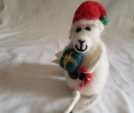 Felted-Art-Figure-Holiday-Sheep