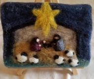 Felted-Art-Picture-Nativity