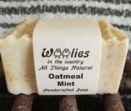 Soap-Fresh-Themed-Oatmeal-Mint